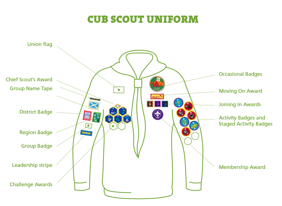 badge positions for cubs